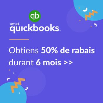 Quickbooks rabais 50%